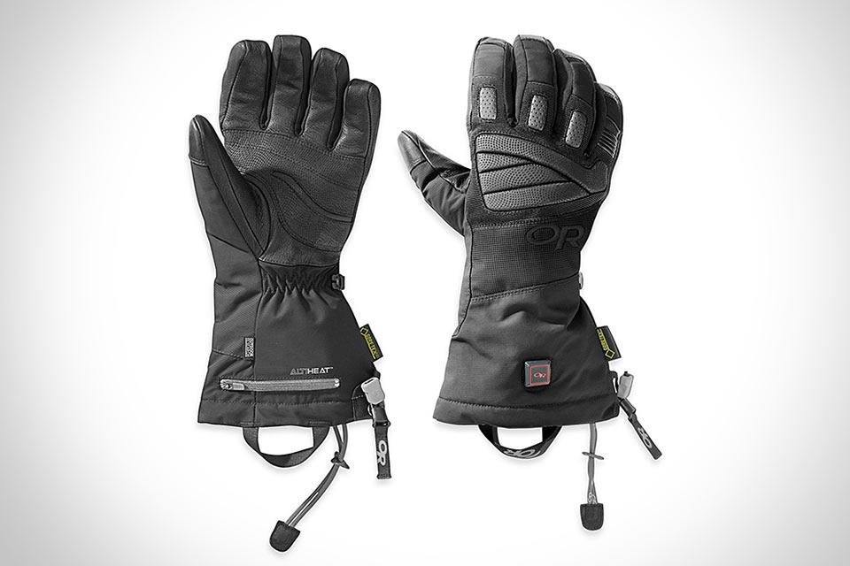 Могучие перчатки с подогревом Outdoor Research Lucent Heated Gloves