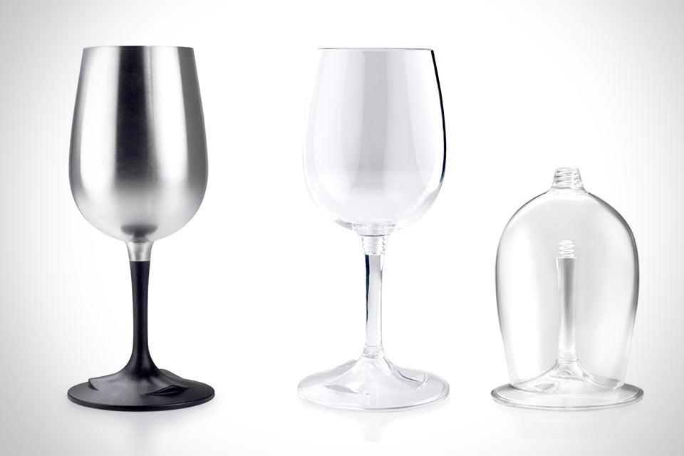 Складной винный бокал Nesting Wine Glass