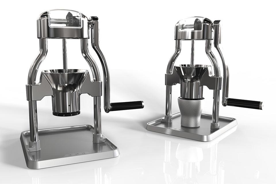 Ручная кофемолка ROK Coffee Grinder