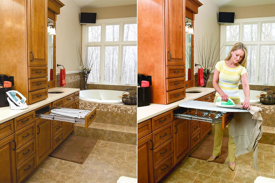Встраиваемая гладильная доска Rev-A-Shelf Ironing Board