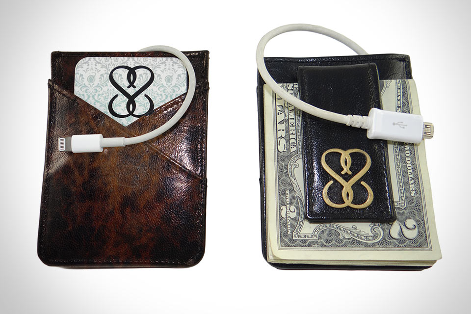 Минималистичный кошелек SmartWallet с Bluetooth, GPS и батареей