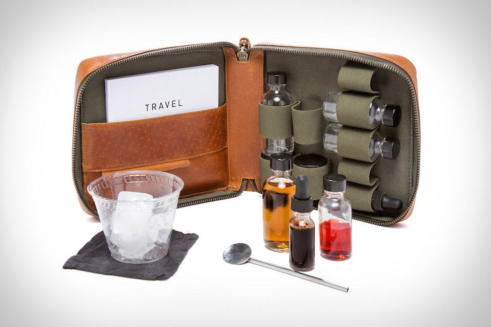 Коктейльный набор Stephen Kenn Travel Cocktail Kit для путешественника