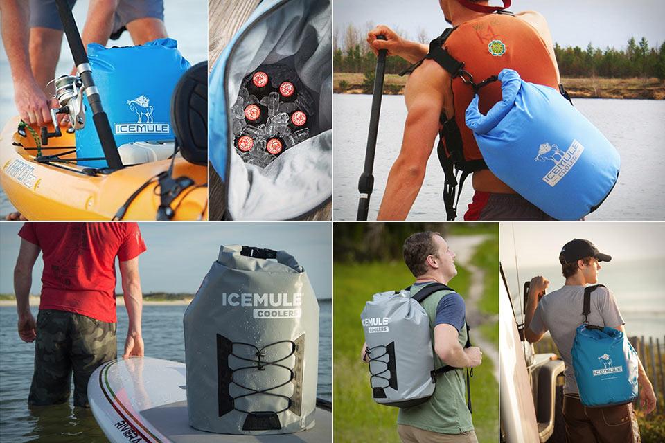 Герметичная сумка-холодильник IceMule Cooler