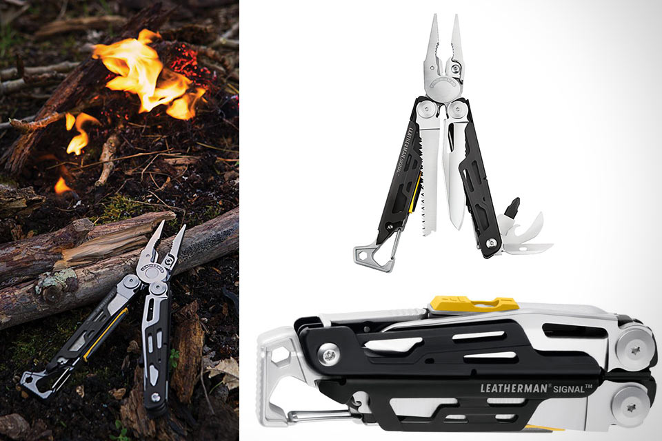 Мультитул Leatherman Signal Survivalist для выживания в дикой местности