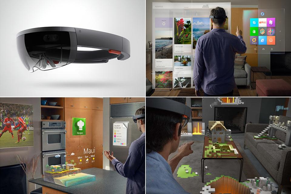 Сказочные очки «дополненной виртуальности» Microsoft HoloLens