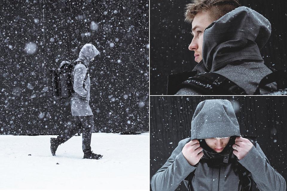 Всепогодная куртка Styrman с реагирующей на тепло мембраной