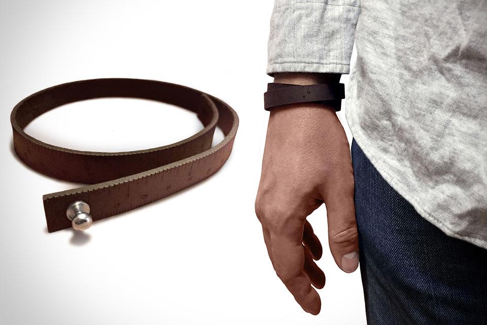 Кожаный браслет-линейка Wrist Ruler