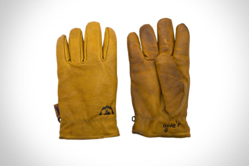 Кожаные перчатки Jackson Hole Glove с микрофиброй внутри