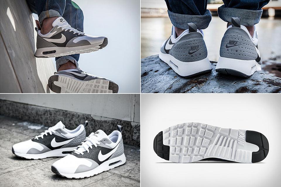 Кроссовки Nike Air Max Tavas с необычной комбинацией материалов