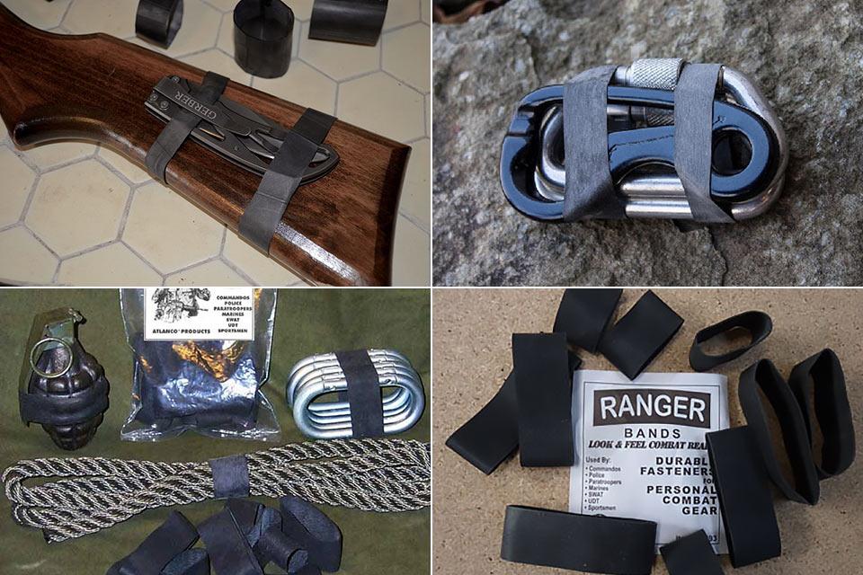 Резинки Ranger Bands военного образца для EDC и туристов