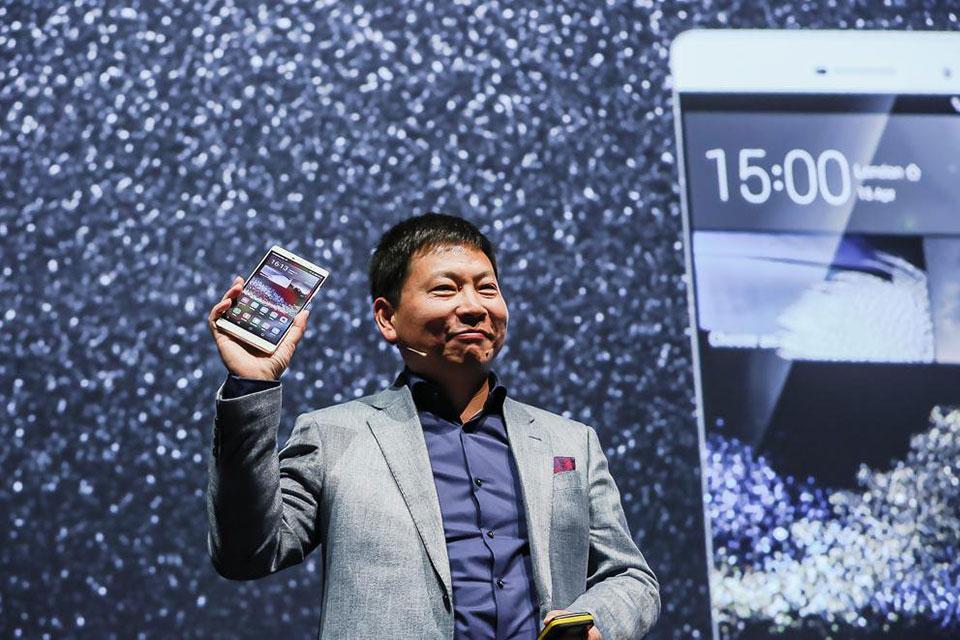 6,8-дюймовый монстрофон Huawei P8max