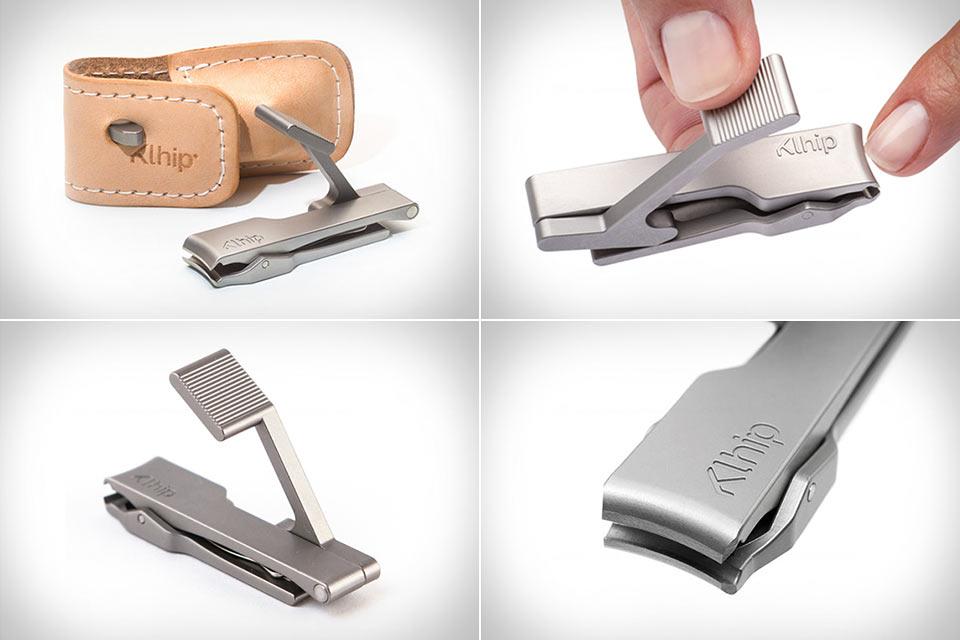 Щипцы для ногтей Klhip с «перевернутым» рычагом