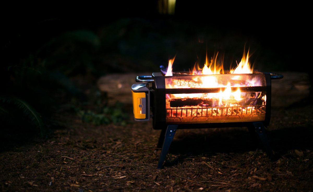 Дровяная печка BioLite FirePit с поддувом