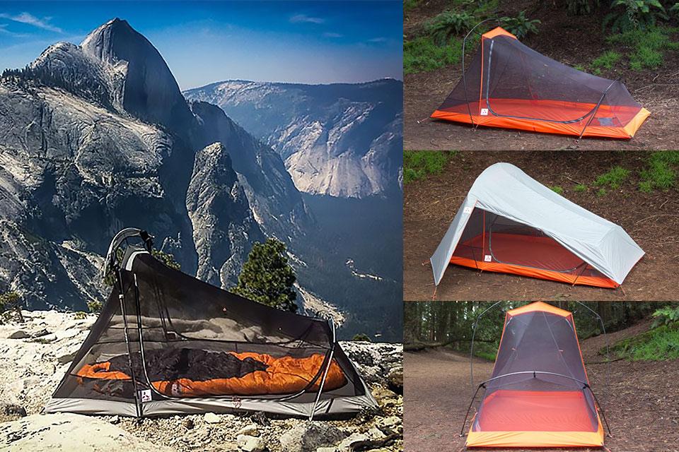 Пакующаяся в рюкзак палатка для двоих SlingFin 2Lite весом в 1.3 кг
