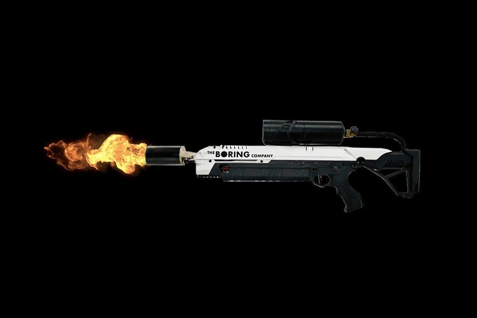Огнемет Илона Маска против зомби