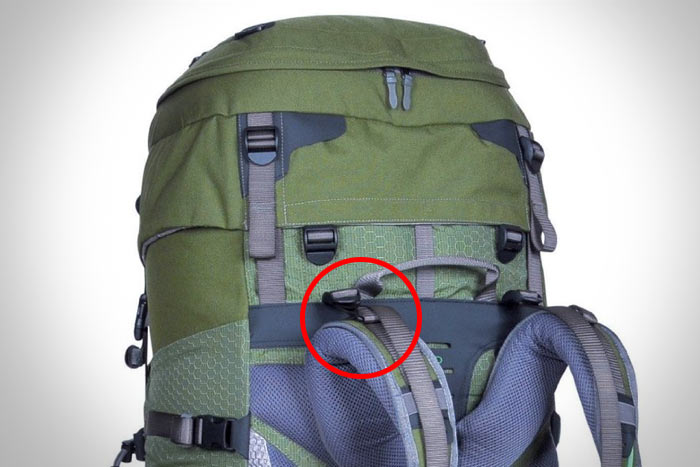 регулировка лямки рюкзака