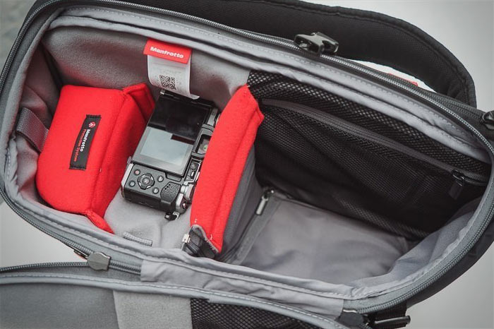 карманы Manfrotto Advanced Travel Backpack