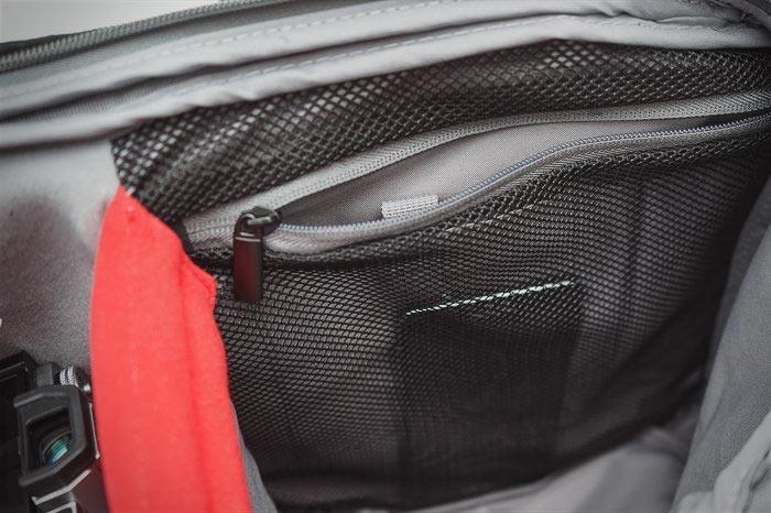 карман для документов в Manfrotto Advanced Travel Backpack