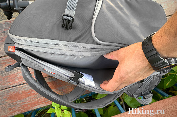 крепления для штатива Manfrotto Advanced Travel Backpack