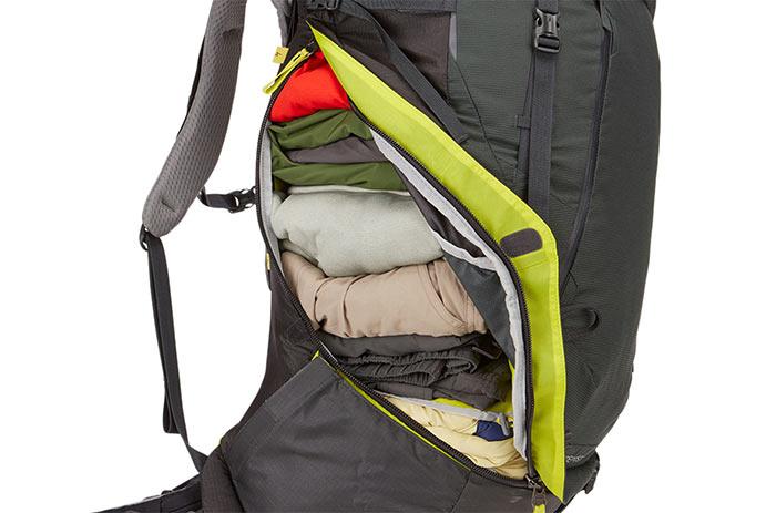 внутренние карманы рюкзака