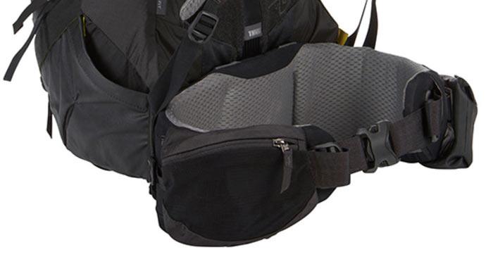 поясной карман на рюкзаке большого размера