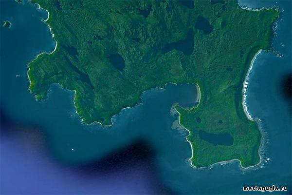 Остров Стокс в Чили