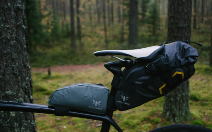 APIDURA SADDLE PACK DRY (9L) + TOP TUBE PACK (EXTENDED)