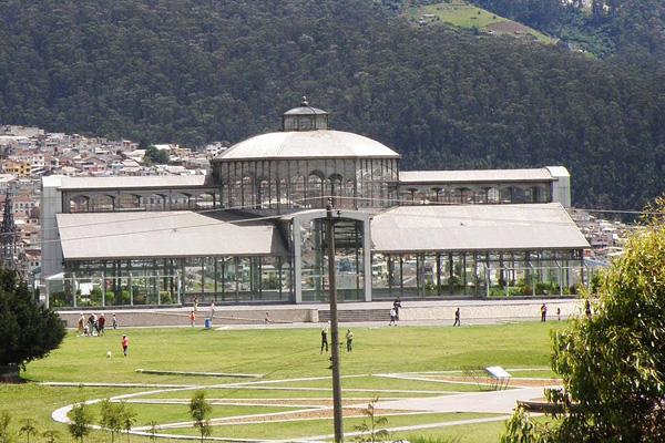 Хрустальный дворец в Кито