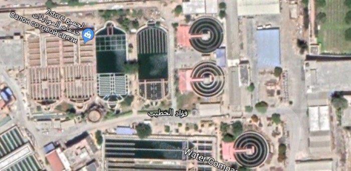 Завод по очистке воды в Александрии