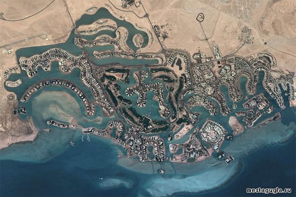 Город Эль-Гуна, Египет