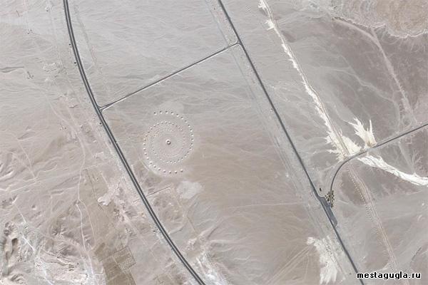 Спираль в Египте, возле города Эль-Гуна