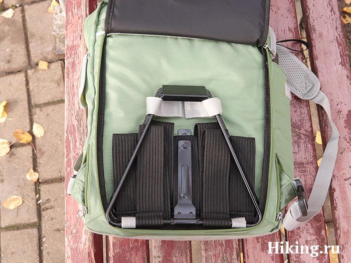 стул в спинке рюкзака