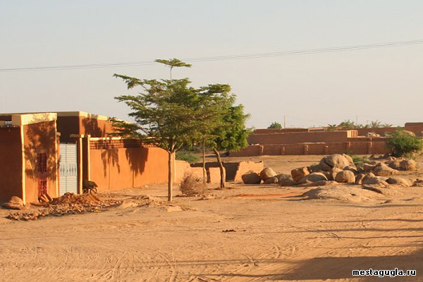Селение в Нигере