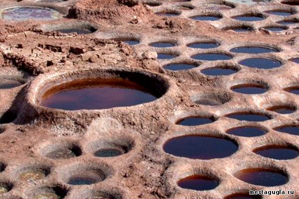 Бассейны-выпариватели в Африке