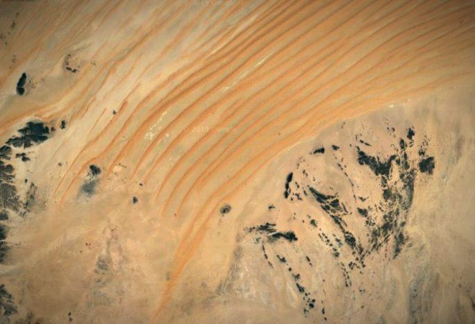Песчаные дюны Йемена