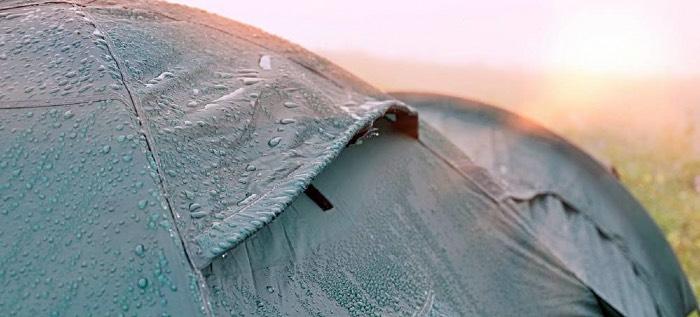 водонепроницаемость палатки